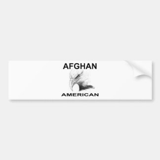 Afghansk-Amerikan Bildekal