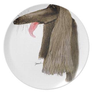 Afghansk hund, tony fernandes tallrik