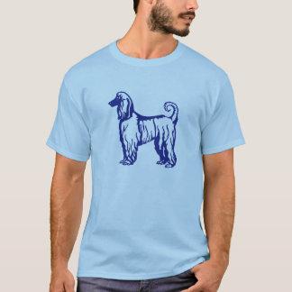 Afghansk hundblåttskjorta t shirt