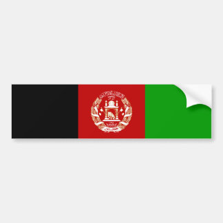 Afghanska/Afghani Afghanistan/flaggabildekal Bildekal