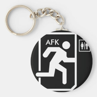 AFK Keychain Nyckel Ring