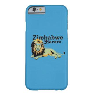 Africankoko anpassningsbar Harare. Zimbabwe Barely There iPhone 6 Skal