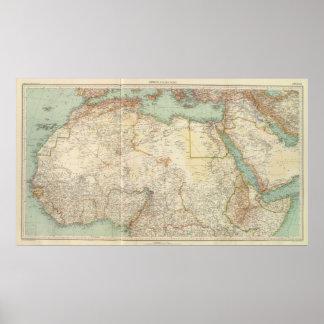 Afrika för norr 10911 poster