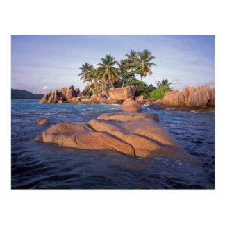 Afrika Indiska oceanen, Seychellerna, Praslin Vykort