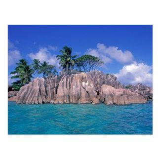 Afrika Seychellerna, Praslin ö, St Pierre Vykort