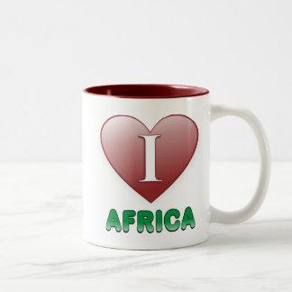 Afrika Två-Tonad Mugg