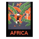 Afrika Vykort