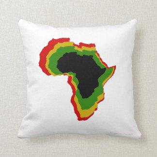 """""""Afrikan - panorera afrikanska färger"""" [a] Kudde"""