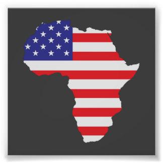Afrikansk amerikanafrikan United States sjunker