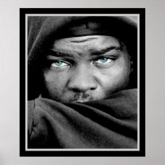 Afrikansk amerikanman poster
