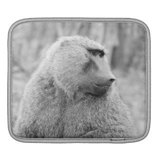 Afrikansk baboon iPad sleeve