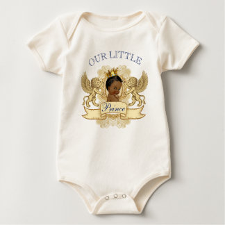 Afrikansk baby showerBodysuit för Prince Royal Creeper