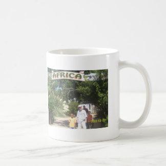 Afrikansk djungel kaffemugg