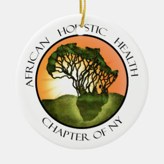Afrikansk Holistic vård- Merchandise Julgransprydnad Keramik