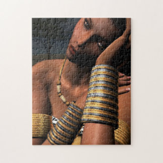 Afrikansk kvinna pussel