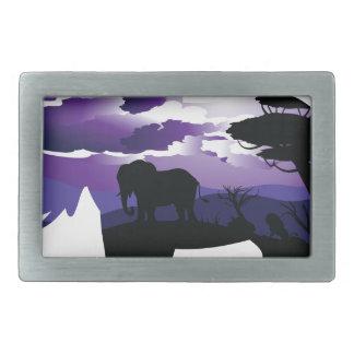 Afrikansk natt med elefanten