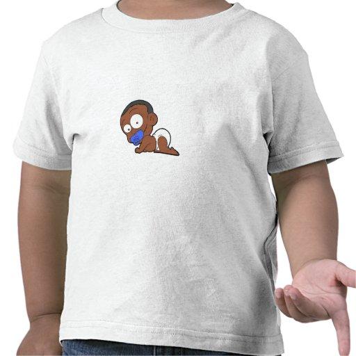 Afrikansk pojkesamling tee shirts