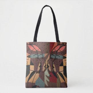 Afrikansk Tapestry Tygkasse