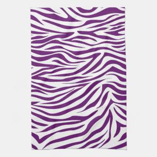 Afrikansk violett Safarisebra Handuk