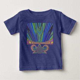 Afrikanska dekorativa färger för modern design för t-shirt