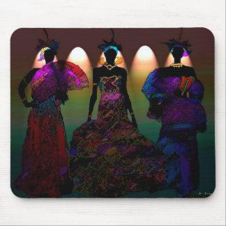 Afrikanskt bröllop mus matta