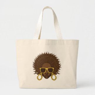 Afro- coola tote bags
