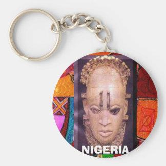 afro festac [2], NIGERIA Rund Nyckelring