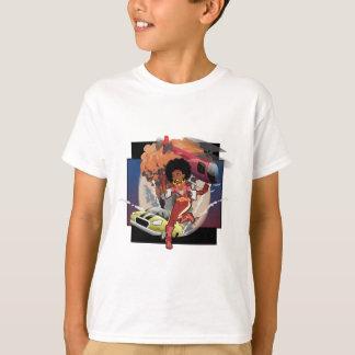 afro spion för blaxploitation tshirts