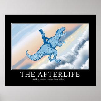 Afterlifen: Demotivational affisch Poster