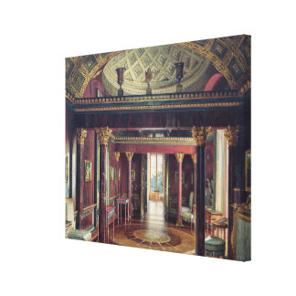 Agaterummet i den Catherine slotten Canvastryck