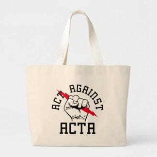 Agera mot ACTA Jumbo Tygkasse