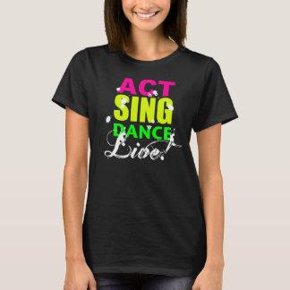 Agera sjungadansen DIREKT! tshirt/tanktop T Shirts