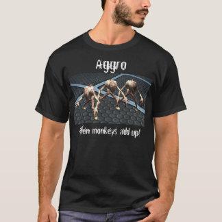 Aggro…, när apor tillfogar upp! tröja