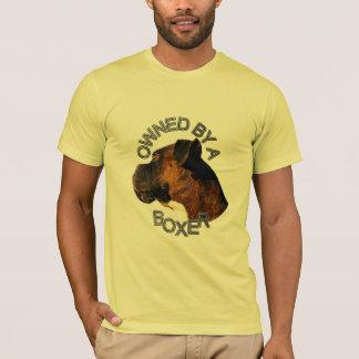 Ägt av boxaremanar t-skjorta t shirt