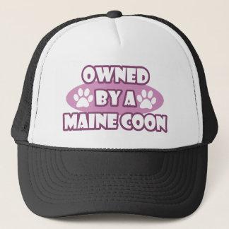 Ägt av en Maine Coon Truckerkeps