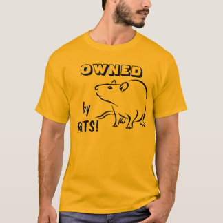 ÄGT av råttor! Tshirts