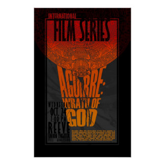 Aguirre: Vrede av guden Poster