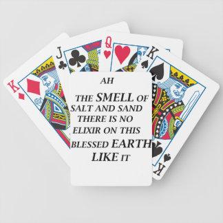 ah är lukten av salt och sanden där på elixirnolla spelkort