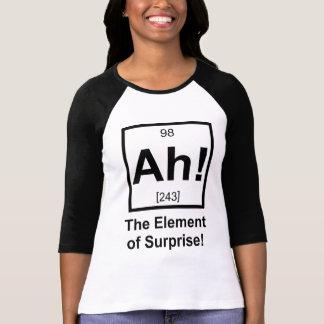 Ah inslag av det periodiska inslagsymbolet för t shirts