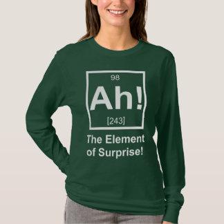 Ah inslag av det periodiska inslagsymbolet för tröjor