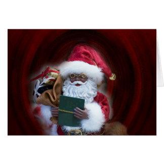 Ah Santa julkort Hälsningskort