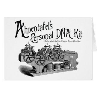 Ahnentafels personlig DNA-sats Hälsningskort