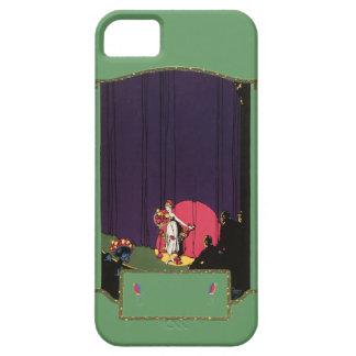 Åhörare för vintagekvinnateatern arrangerar Burton iPhone 5 Case-Mate Fodraler