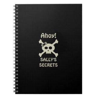 Ahoy! Gullig anteckningsbok för