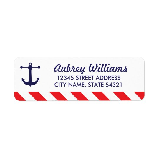 Ahoy! Nautisk adressetiketter