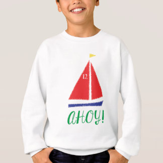 Ahoy! Segelbåtdesign T Shirts