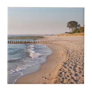 Ahrenshoop strand liten kakelplatta