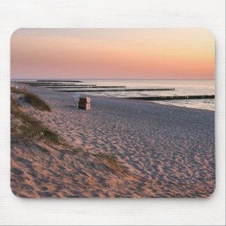 Ahrenshoop strandsolnedgång mus matta