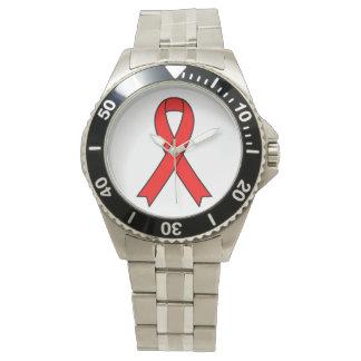 AIDSmedvetenhetarmbandsur Armbandsur