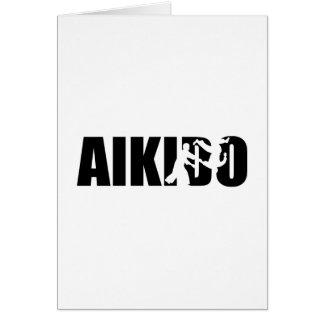 Aikido Hälsningskort